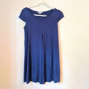 Navy Blue Tee Shirt Dress